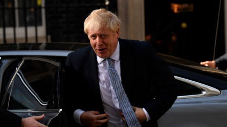Британският премиер Борис Джонсън.