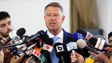 Президентът на Румъния Клаус Йоханис