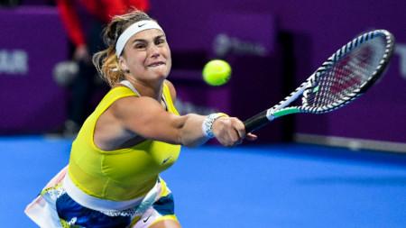 Арина Сабаленка игра три сета.