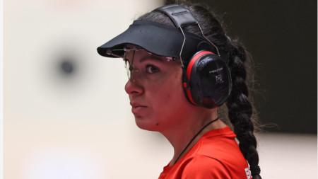 Антоанета Костадинова е на финал.