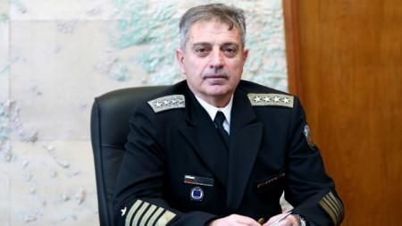 Адмирал Емил Ефтимов - начальник обороны