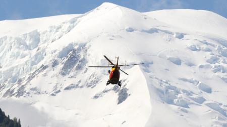Алпите в района на Шамони  и Монблан