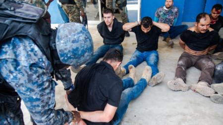 Полицията арестува заподозрени за участие в убийството на президента на Хаити в Порт-о-Пренс.