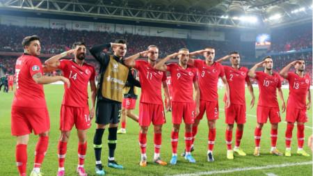 Това отдаване на чест може да донесе наказание на Турция.