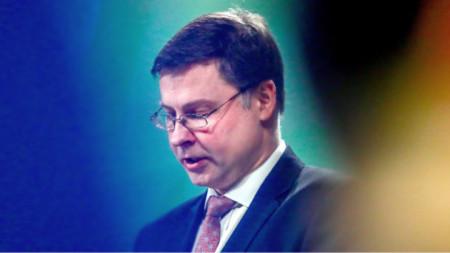 еврокомиссар Валдис Домбровскис