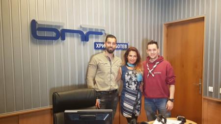 Константин Христов, Ива Дойчинова и Цветан Найденов