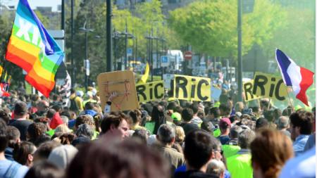Бордо беше център на протеста на