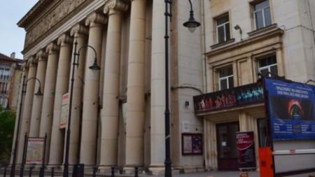 Сградата на Софийската опера и балет