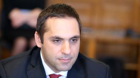 Economy Minister Emil Nikolov