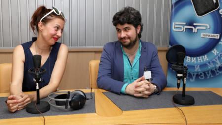 Зорница Цветанова и Владислав Петров