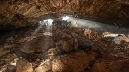Пещерата в щата Сакатекас.