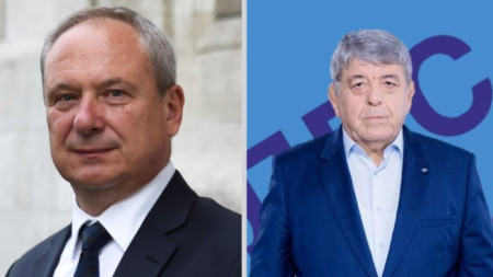 На балотаж за кмет на Търговище са кандидатът на ГЕРБ Дарин Димитров (вляво) иХамди Илиязов – ДПС.
