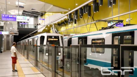 Столичани обичат метрото и общината държи държавата да подпомага разширяването на подземната мрежа