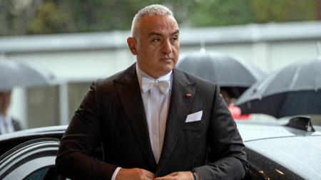 Турският министър на културата и туризма Мехмед Нури Ерсой