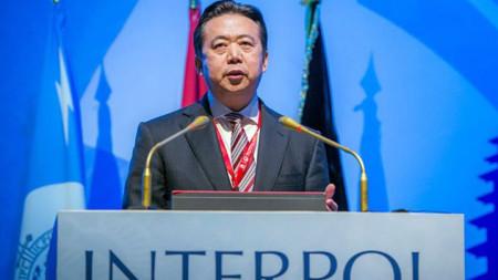 Китаецът Мън Хунвей пое ръководния пост в Интерпол през ноември 2016 г.