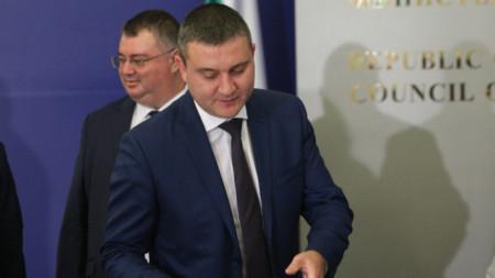 Владислав Горанов представи пред НСТС проект на Закона за държавния бюджет за 2020 г.