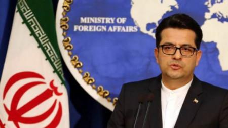 Абас Мусави, говорител на външното министерство на Иран