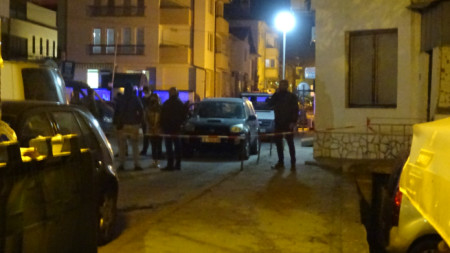 """Трагедията се е разиграла в къща на ул. """"Скопие"""" в град Сандански."""