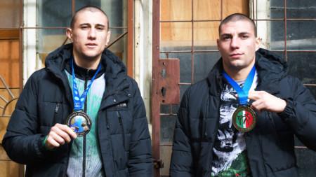 Димитър Стоянов и Никола Николов