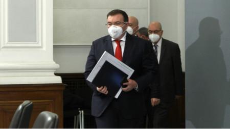 Sağlık Bakanı Kostadin Angelov