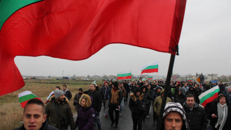 protestë kundra standardit të ulët jetik