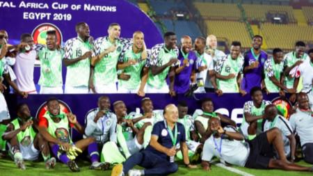 Бронз за Нигерия в първенството на Африка