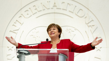 The Managing Director of the International Monetary Fund Kristalina Georgieva