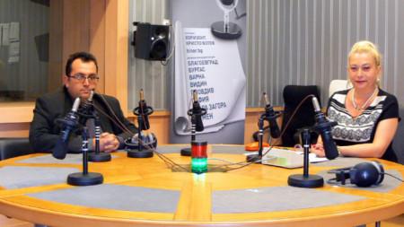Народният представител Христиан Митев и Анелия Торошанова