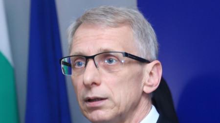 Министърът на образованието и науката Николай Денков