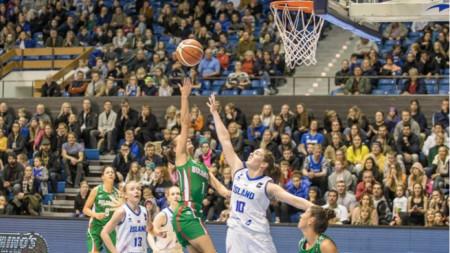 Българките започнаха с победа в Рейкявик евроквалификациите.