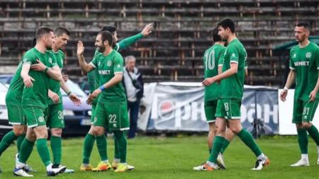 Футболистите на Ботев (Враца) загубиха от Черно море