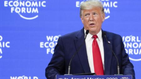 Доналд Тръмп на Световния икономически форум в Давос