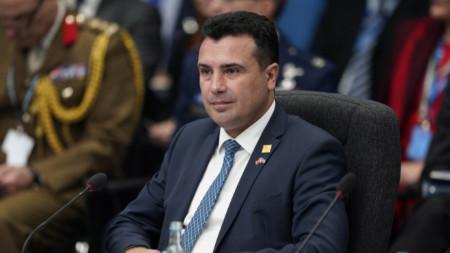 Premier Zoran Zaev