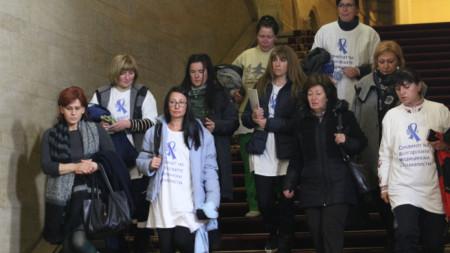 Протестиращите медицински сестри дадоха изявление след срещата в премиера Бойко Борисов.