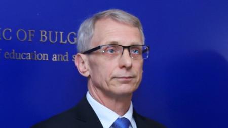 Служебният министър на образованието и науката Николай Денков