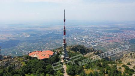 Предавател на Радио Стара Загора, FM-97.20MHz, Сливен