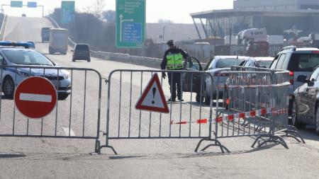 Полицаите връщат в София водачите, които не могат да докажат повода за пътуването си