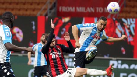 Наполи спечели с 1:0 гостуването си на Милан
