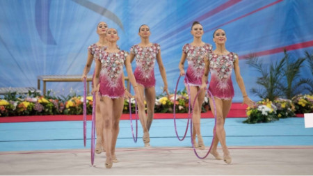 Foto: Federata Bullgare e Gjimnastikës Ritmike