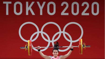 Куо записа двубой от 236 кг.