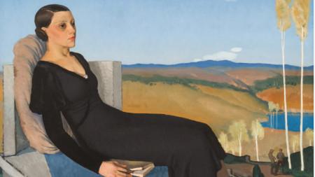 """""""Жена в Черно"""", 1933 г. – Георги Попов (Джон)"""
