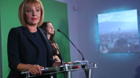 Кандидатът за кмет на София Мая Манолова представя програмата си за управление на столицата.