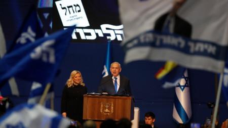Нетаняху обяви победа на изборите, но няма да има мнозинство в Кнесета