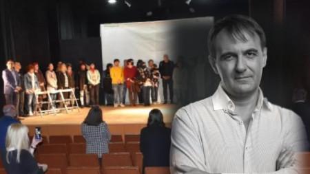 """Димитър Кабаков, директор на общински театър """"Любомир Кабакчиев"""""""