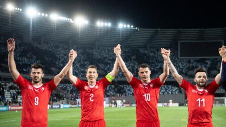 Националният отборл на Швейцария по футбол