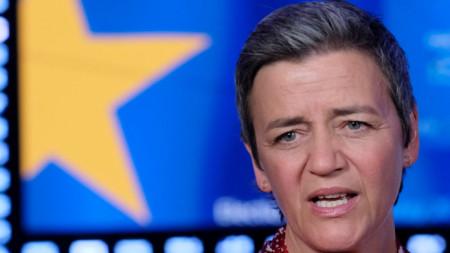 Маргрете Вестагер - комисар по конкуренцията и кандидат от АЛДЕ за председател на Европейската комисия