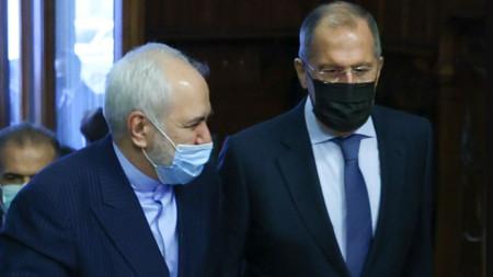 Мохамад Джавад Зариф и Сергей Лавров