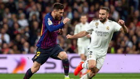 Барселона води с 96-95 победи срещу Реал.
