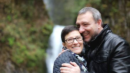 Живка Папанчева и Милен Славов