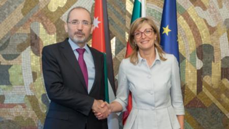 Борбата с тероризма и радикализацията бяха във фокуса на срещите на йорданския външен министър Айман Сафади в България